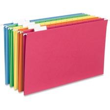 SPR SP5315AST Sparco 1/5-cut Tab Slots Colored Hanging Folders SPRSP5315AST