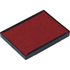 Trodat Swop-Pad 6/4927 Replacement Stamp Pad - 1 Each - Red Ink