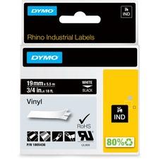 "DYM 1805436 Dymo Colored 3/4"" Vinyl Label Tape DYM1805436"