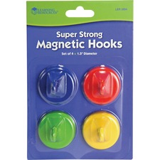 LRN LER2694 Learning Res. Super Strong Magnetic Hooks Set LRNLER2694
