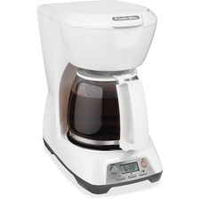 Proctor Silex 43671 Brewer - Programmable - 12 Cup(s) - Multi-serve - Yes - White