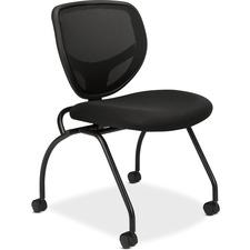 BSX VL302MM10 Basyx VL302 Mesh Back Nesting Chair w/o Arms BSXVL302MM10