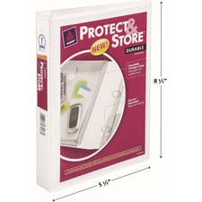 AVE23011 - Avery&reg Protect & Store 5-1/2