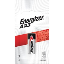 Energizer A23 Electronic 12V Alkaline Battery - For Multipurpose - 12 V DC - Alkaline Manganese Dioxide - 1 Each