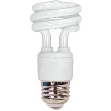 SDN S7214 Satco T2 11-watt Mini Spiral CFL Bulb SDNS7214
