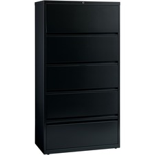 LLR43513 - Lorell Receding Lateral File with Roll Out Shelves