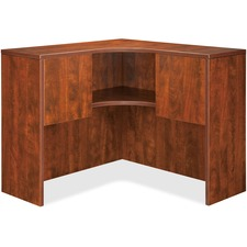 LLR 69921 Lorell Essentials Series Cherry Laminate Desking LLR69921