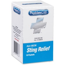 PhysiciansCare Xpress First Aid Refill Sting Relief Pads