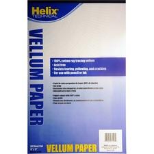 HLX 37106 Helix Vellum Paper Pad HLX37106