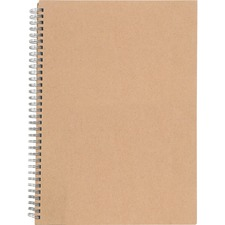 NAT 20206 Nature Saver Hardcover Twin Wire Notebook NAT20206