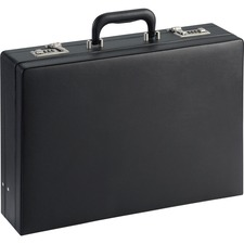 LLR61614 - Lorell Carrying Case (Attaché) Document - Black