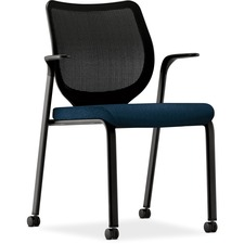 HON N606NT90 HON Nucleus Series Multipurpose Stacking Chair HONN606NT90