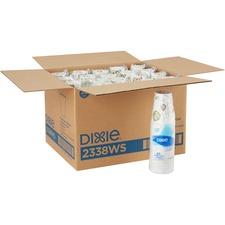 DXE 2338WSCT Dixie Foods Pathways Design Paper Hot Cups DXE2338WSCT