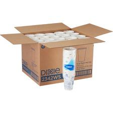 DXE 2342WSCT Dixie Foods Pathways Design Hot Cups DXE2342WSCT