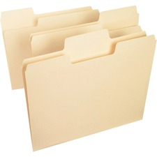 SMD 10401 Smead SuperTab 1/3 Cut Manila Top Tab File Folders SMD10401