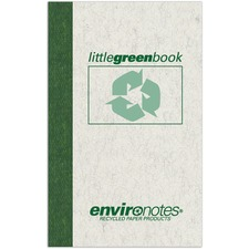 ROA 77356 Roaring Spring Little Green Memo Book ROA77356