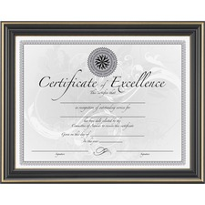 DAX N2709N6T Burns Grp. Dax Hi-Gloss Black Document Frame DAXN2709N6T