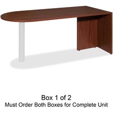 LLR69379 - Lorell Essentials Box 1 of 2 Peninsula