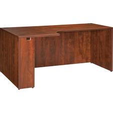 LLR 69911 Lorell Essentials Series Cherry Laminate Desking LLR69911