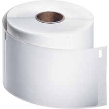 """Dymo Permanent Poly Shipping Labels - 2 5/16"""" x 4"""" Length - Rectangle - White - Polypropylene - 250 / Roll"""