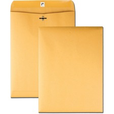 BSN 04424 Bus. Source 32 lb Kraft Clasp Envelopes BSN04424