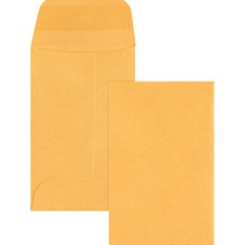 BSN 04440 Bus. Source Small Coin Kraft Envelopes BSN04440