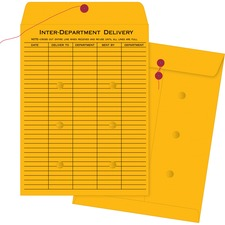 BSN04546 - Business Source Ruled Interdepartmental Envelopes