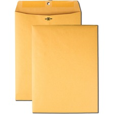QUA 37891 Quality Park High Bulk 9x12 Kraft Clasp Envelopes QUA37891