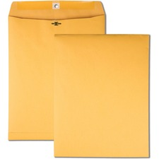 QUA 37892 Quality Park High Bulk 10x13 Kraft Clasp Envelopes QUA37892