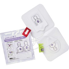 ZOL 8900081001 Zoll Medical AED Plus Defib. Pediatric Electrodes ZOL8900081001