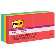 MMM 6228SSAN 3M Post-it Super Sticky 2x2 Marrakesh Notes MMM6228SSAN