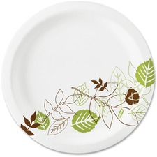 DXE UX7PATH Dixie Foods Pathways Design Everyday Paper Plates DXEUX7PATH