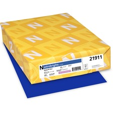 WAU 21911 Wausau Astrobrights Assorted 65lb Card Stock WAU21911