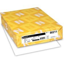 WAU 80211 Wausau Exact 67lb. Vellum Bristol Paper WAU80211