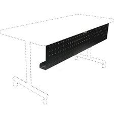 LLR 60686 Lorell Rectangular Training Table Modesty Panels LLR60686