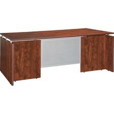 LLR 68687 Lorell Ascent Series Cherry Laminate Furniture LLR68687