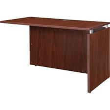 LLR 68700 Lorell Ascent Mahogany Laminate Desking LLR68700