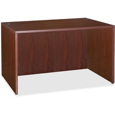 "Lorell Essentials Desk - 47.3"" x 23.6"" x 29.5"" - Finish: Laminate, Mahogany"