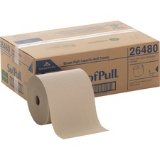 GPC 26480 Georgia Pacific Hardwound Brown Roll Paper Towels GPC26480