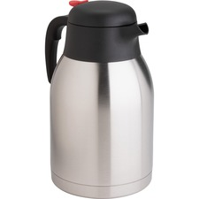GJO 11956 Genuine Joe Dbl Wall Stnls Vacuum Insulated Carafe GJO11956