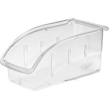 Akro-Mils InSight 305B1 Ultra Clear Supply Bin and Lid
