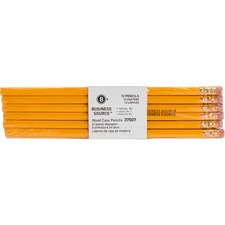 BSN 37507 Bus. Source Woodcase No. 2 Pencils BSN37507