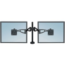 FEL 8041701 Fellowes Professional Series Dual Monitor Arm FEL8041701