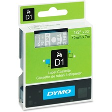 DYM 45020 Dymo D1 Electronic Tape Cartridge DYM45020