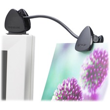 "Kensington Flexclip Copyholder - 1.75"" (44.45 mm) Height x 1.50"" (38.10 mm) Width - Molded Plastic"