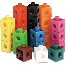 LRN LER7584 Learning Res. Snap Cubes 100-piece Activity Set LRNLER7584