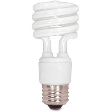 SDN S7218 Satco T2 13-watt Mini Spiral CFL Bulb SDNS7218