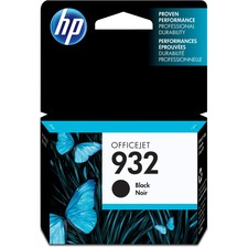 HP 932 Original Ink Cartridge - Single Pack - Inkjet - Black - 1 Each