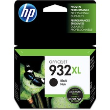 HP 932XL Original Ink Cartridge - Single Pack - Inkjet - High Yield - 1000 Pages - Black - 1 Each