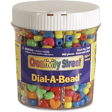 CKC 3500 Chenille Kraft Dial-A-Bead Jar Assortment CKC3500